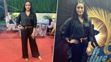 Nach Baliye 9: Surbhi Chandna's Enchanting All-Black Avatar for Salman Khan's Dance Show Needs to Be Bookmarked Right Away (View Pics)