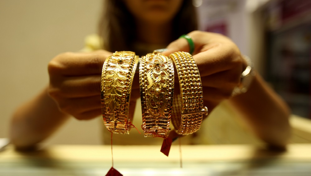 Gold Futures Slip to Rs 36,875 Per 10 Gram Ahead Festive Season