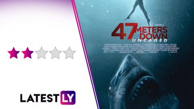 47 Meters Down Uncaged Movie Review: Corinne Foxx and Sophie Nelisse's Shark-Bait Drama is Sloppy on the Thrills and Lacks Creativity