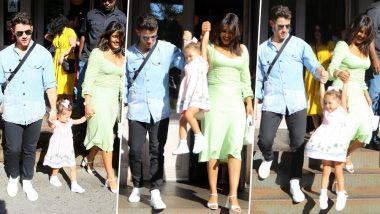 Priyanka Chopra and Nick Jonas Have a Fun Time with his Niece Alena Rose Jonas in New York (View Pics)