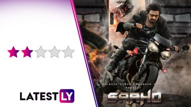 Saaho Movie Review: Prabhas and Shraddha Kapoor's Thriller Aims to Go Fast & Furious but Peaks At Race 3 Level