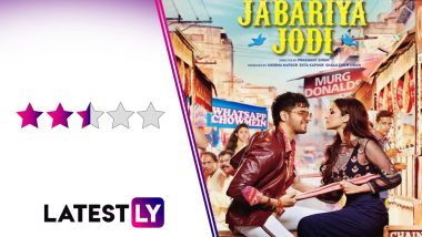 Jabariya Jodi Movie Review: Sidharth Malhotra, Parineeti Chopra's Love Story Lets Down Some Sparkling Dialogues and a Talented Ensemble