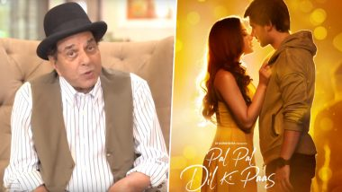 Pal Pal Dil Ke Paas: Dharmendra Expresses Excitement Over Title Song's Release; Karan Deol and Sahher Bambba Romance on the New Poster