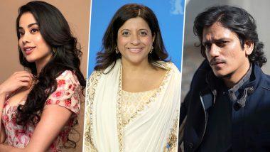 Janhvi Kapoor Makes her Digital Debut with Vijay Varma in Zoya Akhtar's Ghost Stories