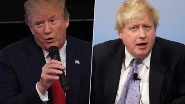 Donald Trump, Britain's New PM Boris Johnson Talk 5G and Trade Ahead of G7 Summit: White House