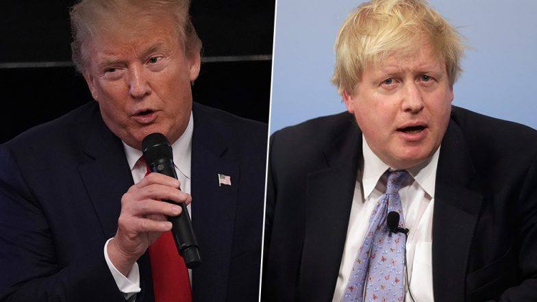 Trump, Britain's Johnson discussed trade, security, 5G: White House