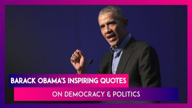 Barack Obama Turns 58 on August 4, Here Are Some Of His Inspirational Quotes On Democracy & Politics