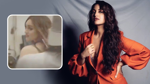 Sonakshi Sinha's Handcuffed Video Goes Viral As Netizens Trend #AsliSonaArrested on Twitter – Watch Video