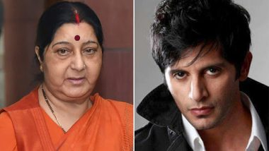 Sushma Swaraj No More: Karanvir Bohra Reminisces How the Late Politician Once Came to His Rescue