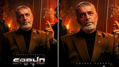 Saaho: Chunky Pandey's Brooding Eyes do All the Talking in this New Poster of Prabhas' Next
