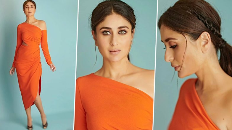 Kareena Kapoor Khan's Orange Dress by Gauri & Nainika is the Only thing We Need to Get Over our Mid-Week Blues (View Pic)