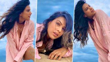 Nia Sharma Shoots for Jamai Raja 2.0 in Pondicherry, Raises the Heat With Her Smoking Hot Beach Pictures
