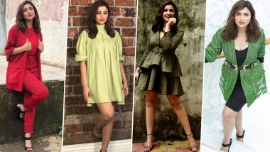 Parineeti Chopra's Style File for Jabariya Jodi Promotions Just Made Us Run Out of Words for 'BORING!' (View Pics)