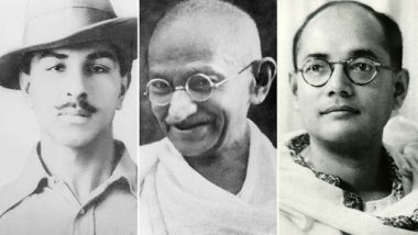 Independence Day 2019: From Mahatma Gandhi to Bhagat Singh, Remembering Freedom Fighters on India's 73rd Independence Day