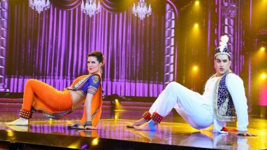 Nach Baliye 9: Aly Goni and Natasha Stankovic's Lavani Act on Salman Khan's Dance Show Wins Everyone's Heart (View Pic)