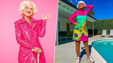 Meet Helen Van Winkle, the 91-year-old Instagram Influencer Granny Who Can Give Ranveer Singh a Run for His Money with Her Bright Colourful Outfit Choices (View Pics)