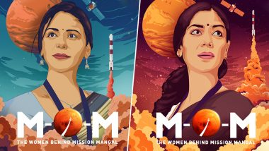 ALTBalaji's MOM – Mission Over Mars Poster: Sakshi Tanwar and Mona Singh Bring Incredible Story of India's Space Mission to Mars (View Pics)
