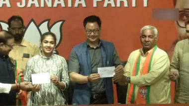 Babita Phogat And Her Father Mahavir Singh Phogat Join BJP Ahead of Haryana Assembly Elections 2019