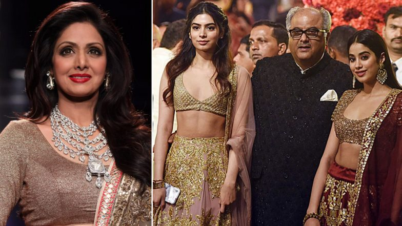 Sridevi's Madame Tussauds Wax Statue in Singapore to Be Unveiled by Janhvi, Khushi and Boney Kapoor