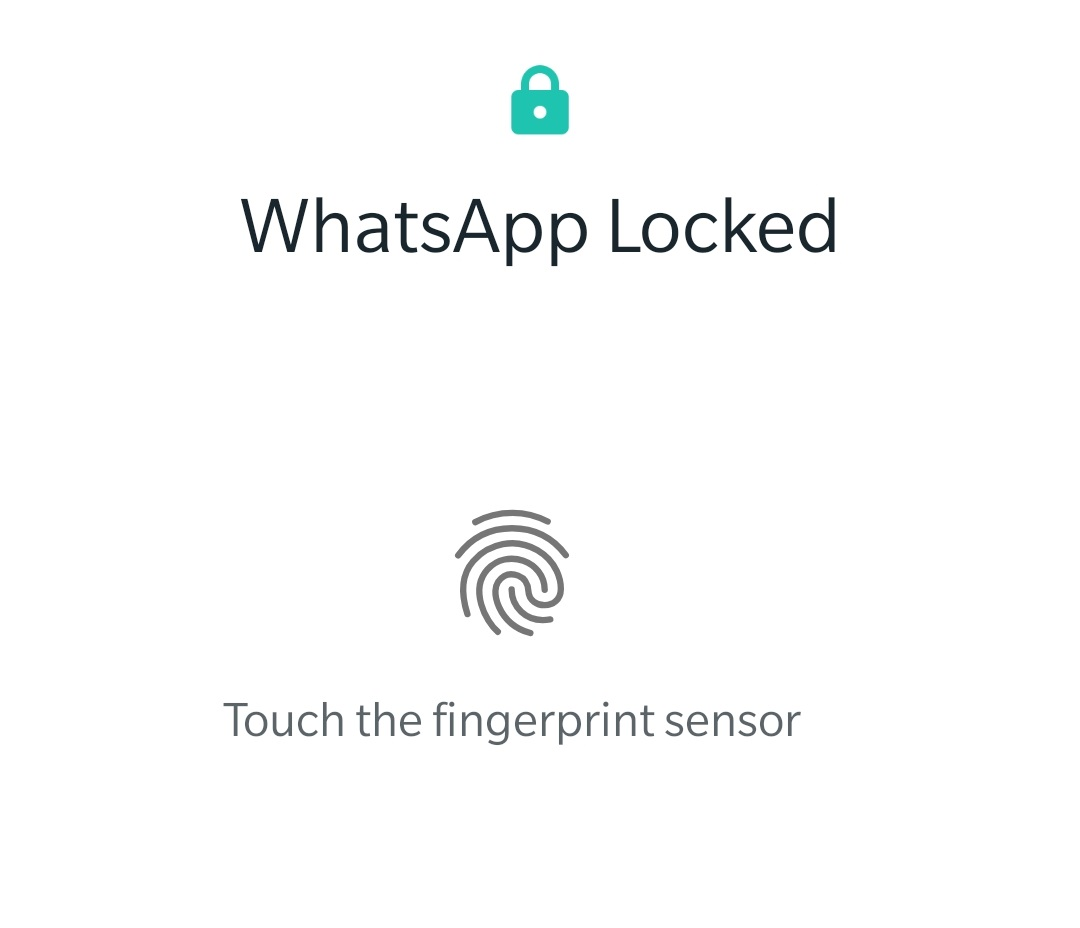 WhatsApp Beta users can now use fingerprint authentication just like iOS