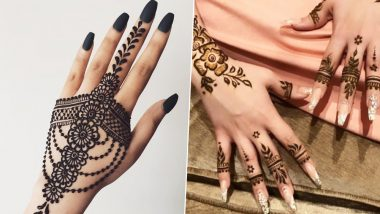 Easy Mehndi Designs for Independence Day 2019: Simple Arabic and Indian Henna Patterns You Can Try This 15th August (Watch Video Tutorials)