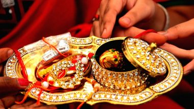 Raksha Bandhan 2019: From Diya to Akshat, Here Are Holy Things That You Must Place on the Thali to Complete the Rituals