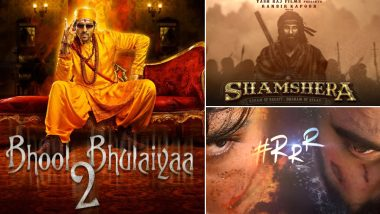 Kartik Aaryan's Bhool Bhulaiyaa 2 to Clash with SS Rajamouli's RRR and Ranbir Kapoor's Shamshera on July 31, 2020