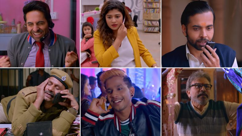 Dream Girl Song Dil Ka Telephone: Ayushmann Khurrana's Expressions and Jonita Gandhi's Vocals Make for an Unusual but Fun Combo (Watch Video)