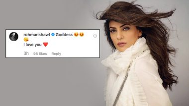 Sushmita Sen's Latest Instagram Picture is Beyond Gorgeous But It is Her Beau Rohman Shawl's Comment That Has Us Blushing!