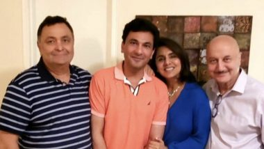 Rishi Kapoor Enjoys a Meal With Neetu Kapoor, Anupam Kher and Masterchef Vikas Khanna, Tweets 'Thank you Chef Supreme'