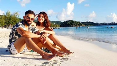 Anushka Sharma and Virat Kohli are All Smiles, Soaking in the Sun at the Beach in Their Latest Instagram Picture