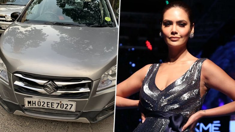 Esha Gupta Seeks Help From Mumbai Police on Twitter After Her Car Gets into an Accident