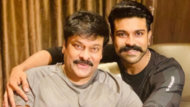 Ram Charan has an Adorable Birthday Wish for his 'Appa', Megastar Chiranjeevi - View Pic