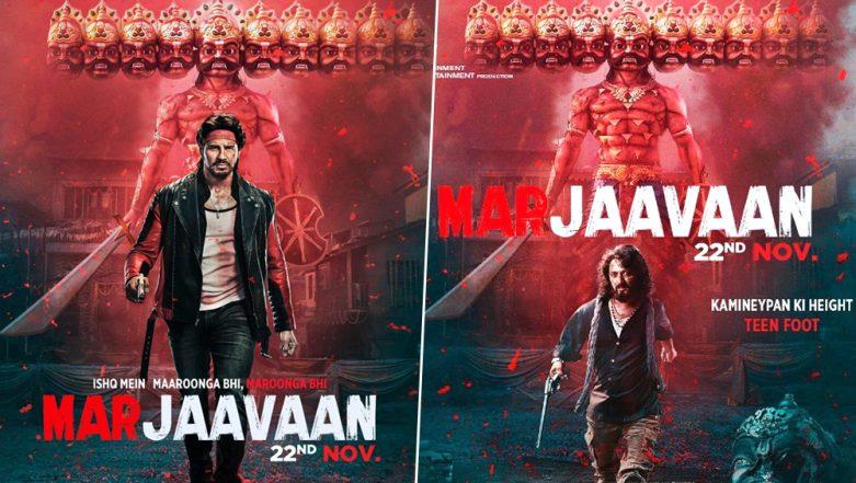 Marjaavaan First Look: Sidharth Malhotra Will Fight a Three Feet Tall Riteish Deshmukh in Milap Zaveri's Next