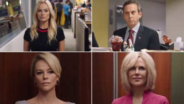 Bombshell Teaser: Charlize Theron is a Spitting Image of Fox News' Megyn Kelly; Nicole Kidman and Margot Robbie Also Star in the Scandal Drama