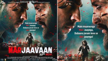 Marjaavaan: Sidharth Malhotra and Riteish Deshmukh Go Ballistic in this New Poster