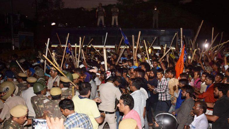 Ravi Das Mandir Demolition Protests: Bhim Army Chief Chandrashekhar Azad, 95 Others Sent to 14-Day Judicial Custody
