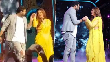 Raveena Tandon Dances to 'Tip Tip Barsa Pani' for Prabhas and If He Is Not the Luckiest Man Alive Then Who Is (Watch Video)