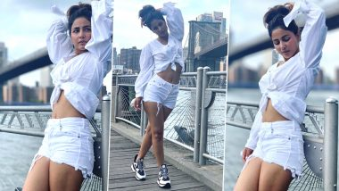 Hina Khan Lights Up the Internet in an All-White Look (View Pics)