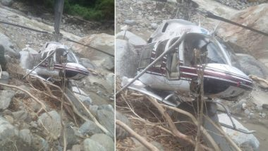Uttarakhand: Helicopter Crashes in Tikochi Area Near Cloudburst-Hit Arakot