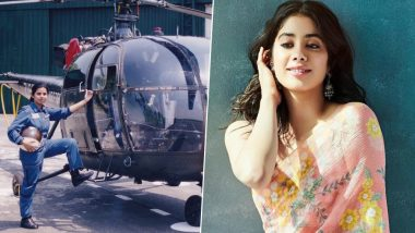 Janhvi Kapoor's First Look From Kargil Girl as IAF Pilot, Gunjan Saxena Will Be Out on August 29, 2019
