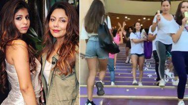 Gauri Khan Shares Daughter Suhana Khan's First-day Journey at New York University - Watch Video