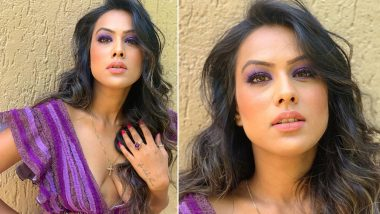 Jamai 2.0 Actress Nia Sharma's Purple Eye Makeup Is Too Stunning to Miss (View Pics)