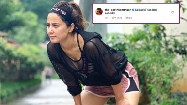 Kasautii Zindagii Kay 2: Parth Samthaan Trolls Hina Khan for Her Latest Gym Picture, the Actress Reacts