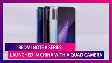 Xiaomi's Redmi Note 8 Series Launches With A Quad Camera Set-Up And 64MP Main Camera