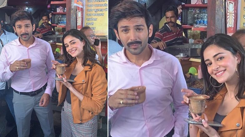 Here's How Kartik Aaryan Responded When His Pati Patni Aur Woh Co-Star Ananya Panday Said She's Allergic to Tea (Watch Video)