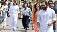 Blackbuck Poaching Case: Rajasthan HC Adjourns Hearing Against Acquitted Saif Ali Khan, Sonali Bendre and Tabu to Sept 16