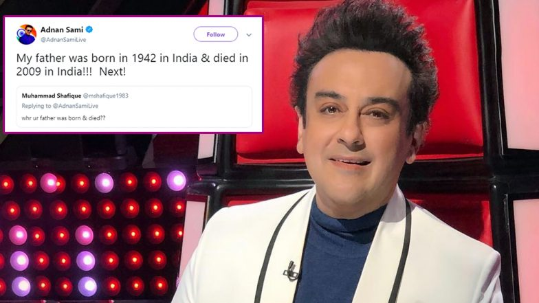 Adnan Sami Savagely Slams Trolls Questioning His Loyalty Towards India! Read Tweets