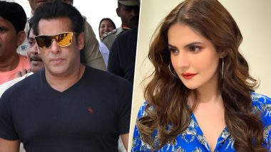 'Salman Khan is Marrying Me', Says Zareen Khan as She Gets Fans in a Tizzy With Her Response to a Rumour She Would Like to Spread About Herself