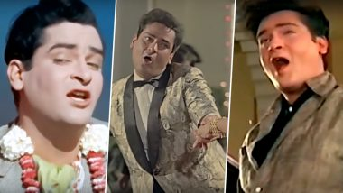 Shammi Kapoor Death Anniversary: 5 Foot-Tapping Songs of The 'Elvis Presley' of Bollywood That Will Make You Groove
